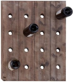Relaxing Wooden Rack Ideas To Be Applied Into Any Home Styles 37