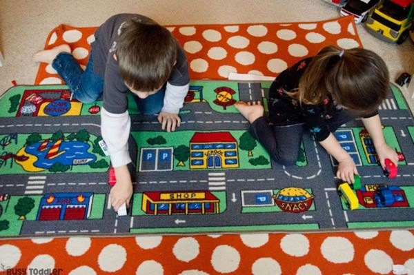 Superb Playful Carpet Designs Ideas To Surprise Your Kids 11