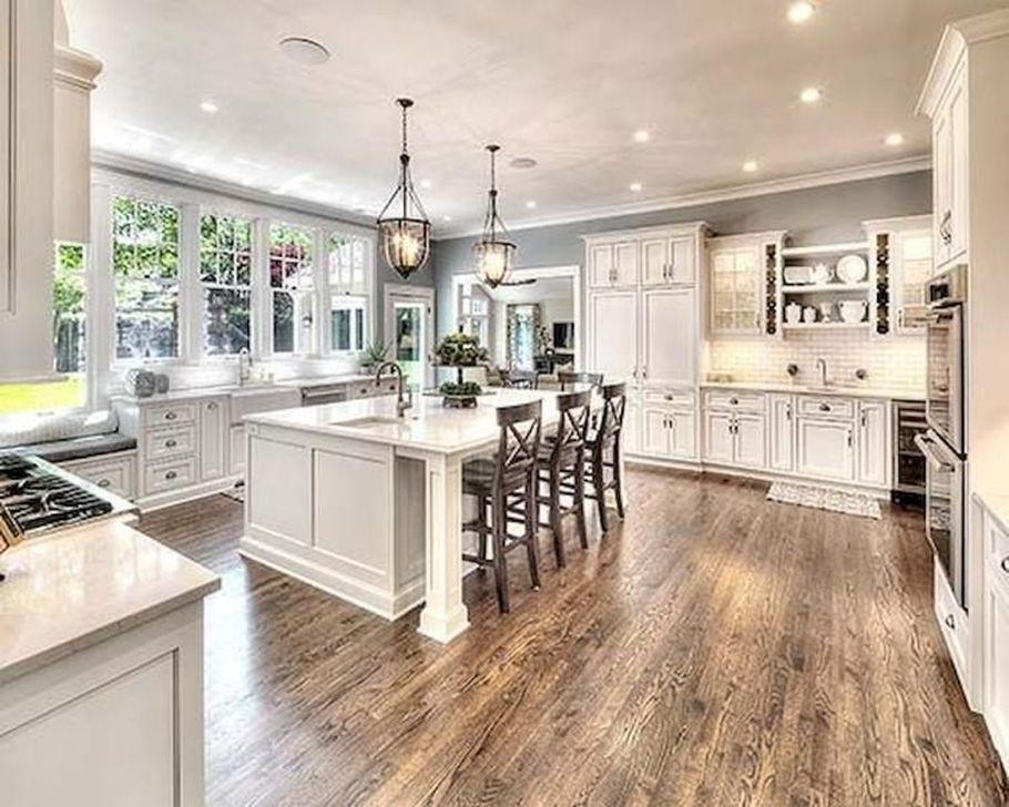 Unordinary Farmhouse Style Kitchen Island Ideas 13