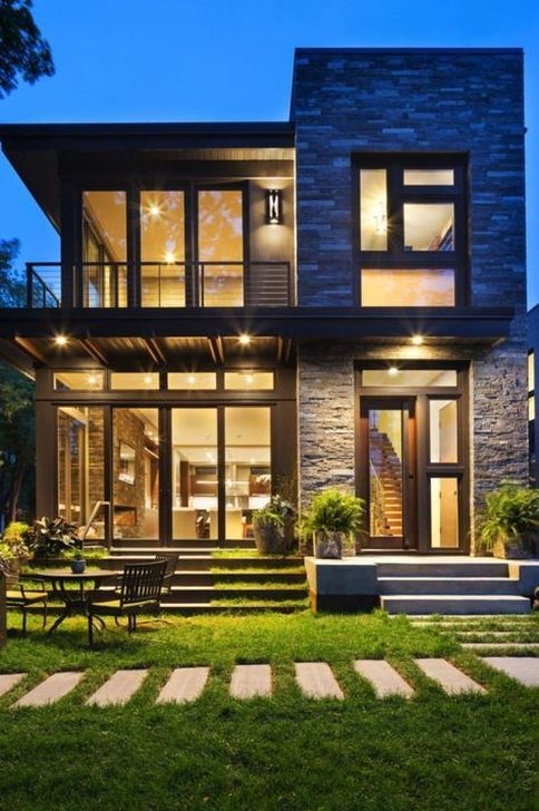 Unusual Home Exterior Designs Ideas That Look Clean And Dazzle 25