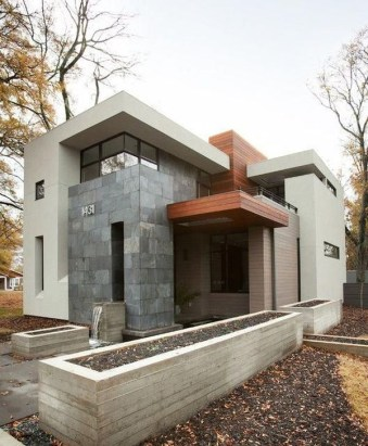 Unusual Home Exterior Designs Ideas That Look Clean And Dazzle 35