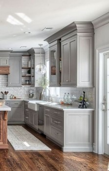 Classy Farmhouse Kitchen Cabinets Design Ideas To Copy 18