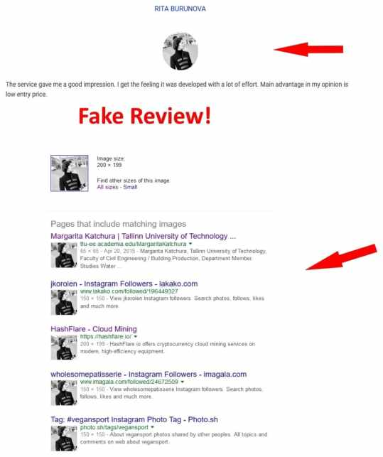 Hashflare fake review