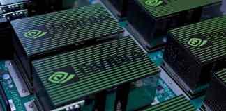 As ações da fabricante de chips Nvidia caem 17 por cento
