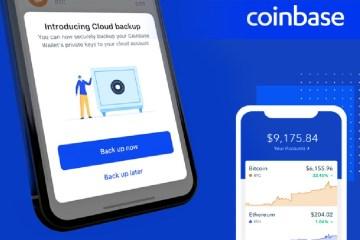 Usuários Coinbase Wallet agora podem fazer backup de chaves privadas no Google Drive, ICloud