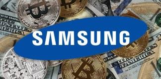 Samsung está desenvolvendo sua própria criptomoeda