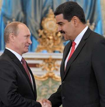 Venezuela e Rússia negociam abandono do dólar americano pelo uso do Petro e Rublo Russo