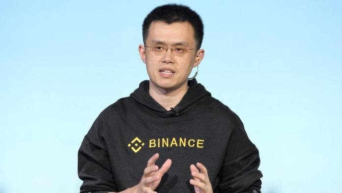 CEO da Binance anuncia