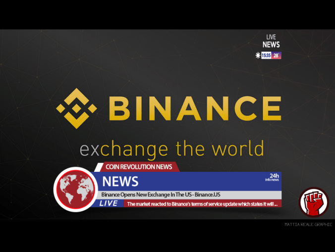 Binance EUA abre registro de contas