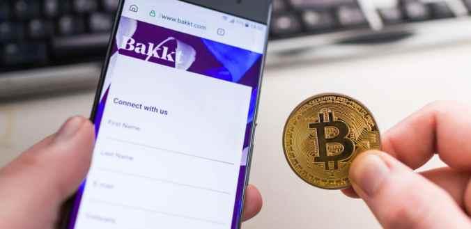 Futuros de Bitcoin Bakkt sobe 800% seu volume de negociação em um dia