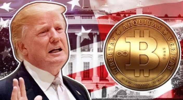 Administração Trump afirma ser responsável pela queda nos preços do Bitcoin em 2017