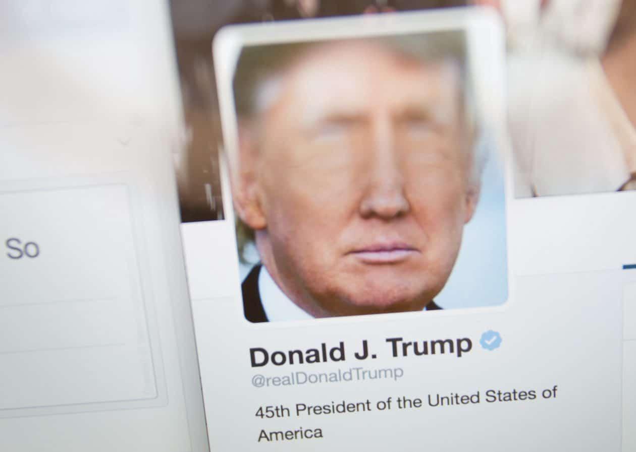 Trump permanecerá no Twitter porque sua conta não foi afetada pelo hack