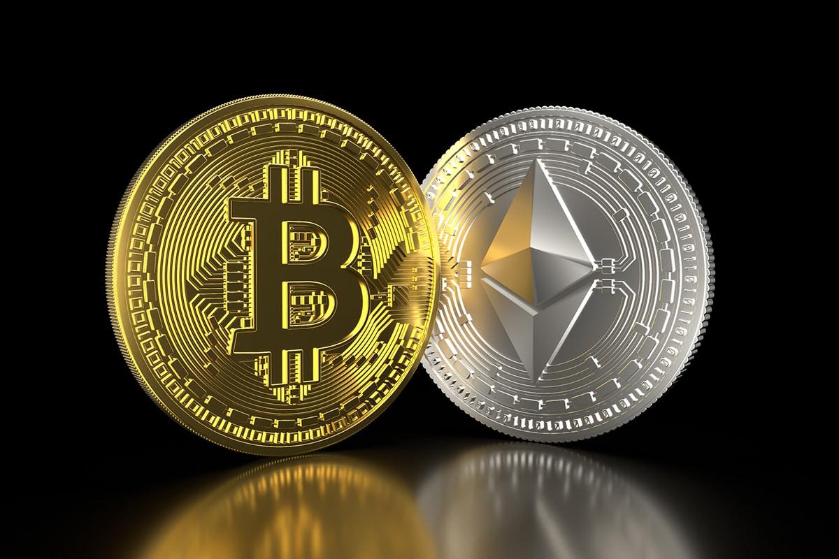 Bitcoin e Ether correspondem por 44% do valor bloqueado no DeFi