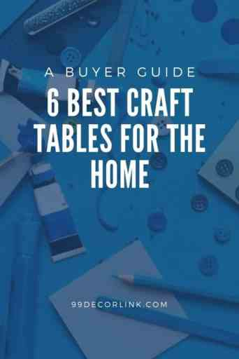 6 best craft tables for the home pintrest