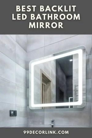 Best Backlit Led Bathroom Mirror Pinterest