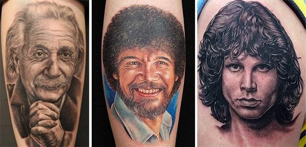 Стили татуировок - портреты
