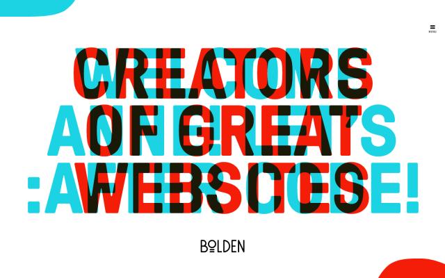 Bolden website screenshot