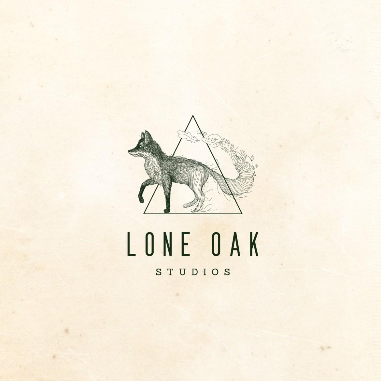Unique logo design for Lone Oak