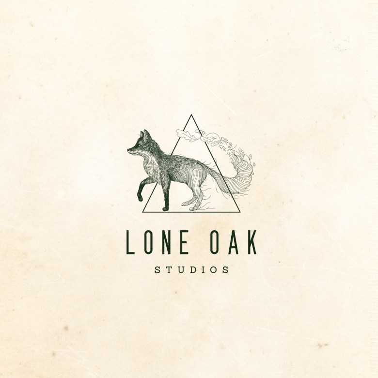 Unique logo design for Lone Oak