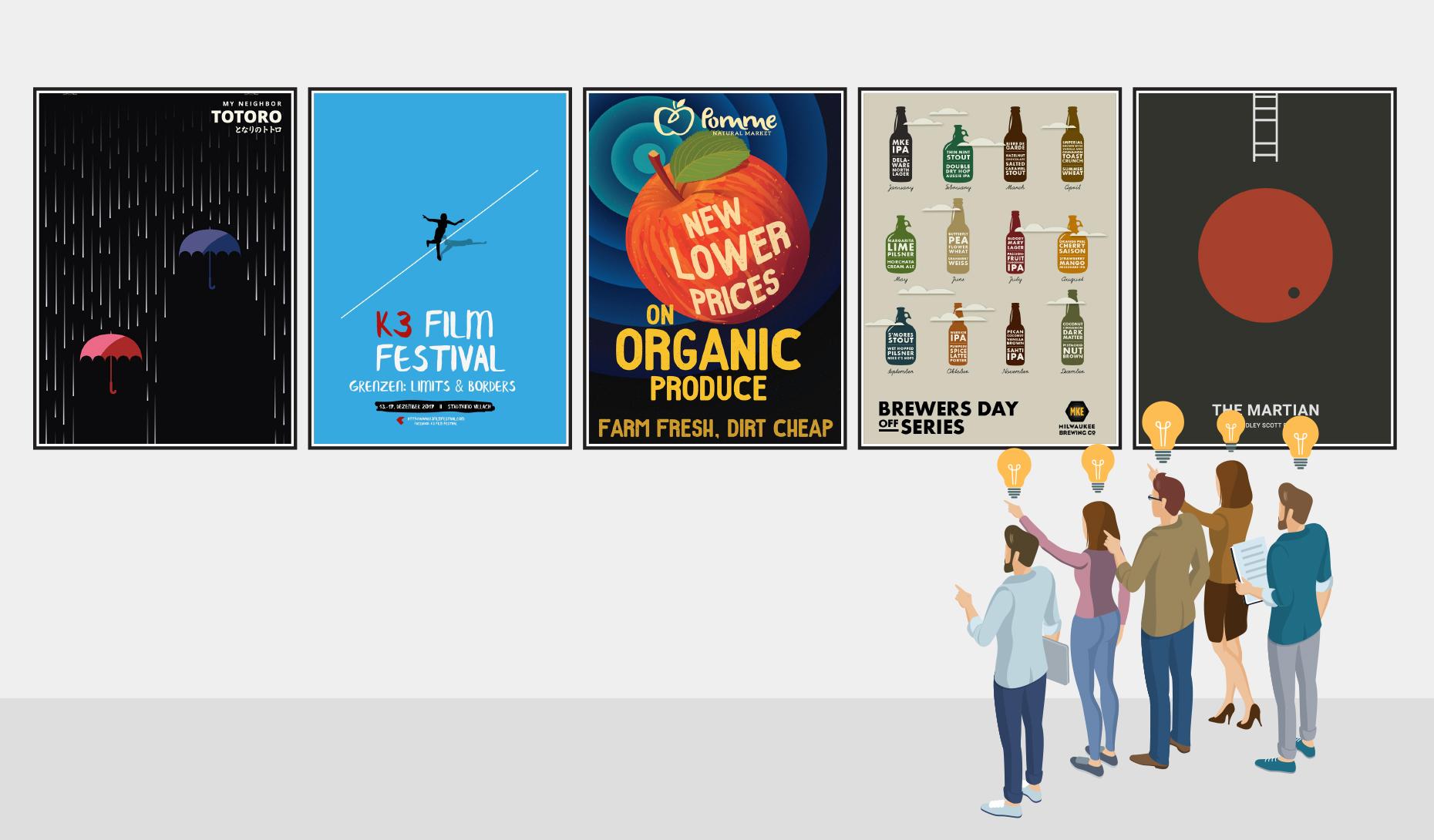 30 creative poster design ideas that