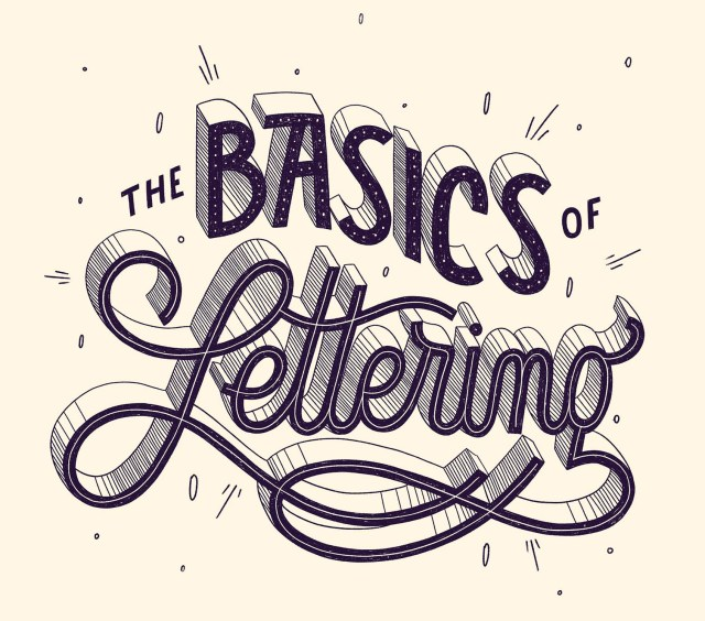 Hand Lettering Basics: A Tutorial for Beginners - 23designs