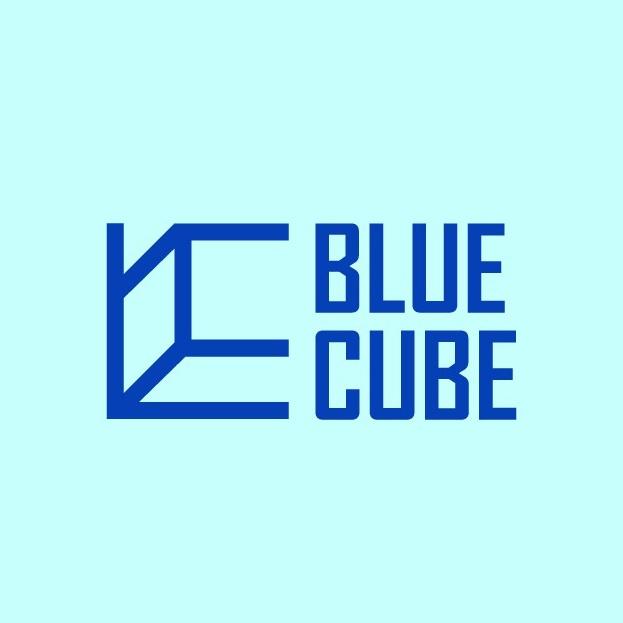 logo design trends example: Minimalist perspective cube logo design