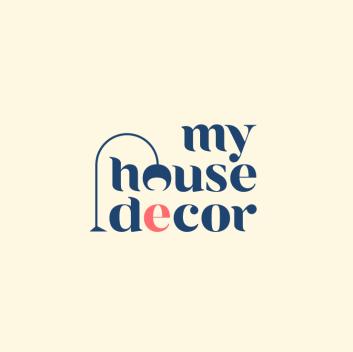 logo design trends example: Typography lettering logo design for real estate