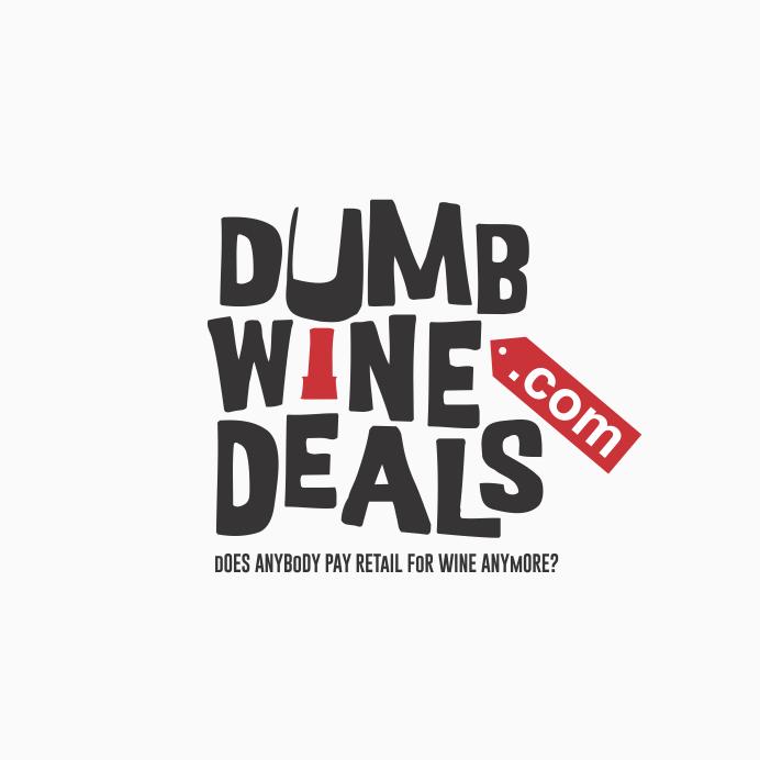 logo design trends example: Hand-lettering logo design for wine company