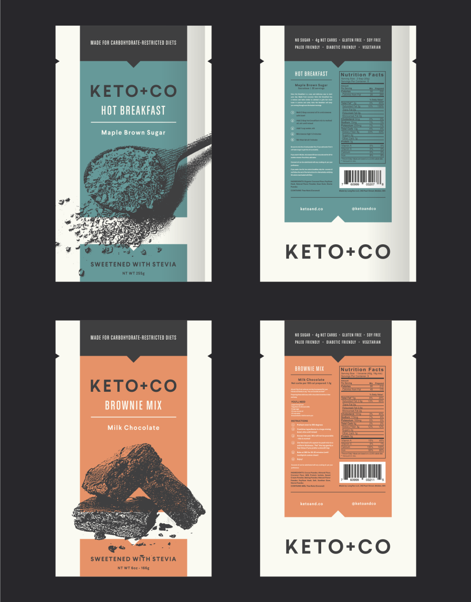 Keto + Co product packaging