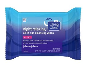 Face Oil Remover Wipes with Deep Sea Minerals