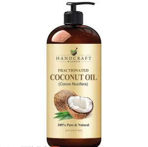 Fractionated Coconut Oil 100% Pure