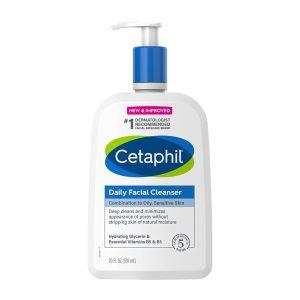 CETAPHIL Best face wash for sensitive skin dermatologist recommended