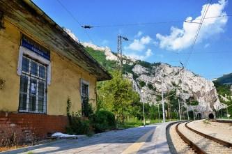 The railway station in Cherepish.