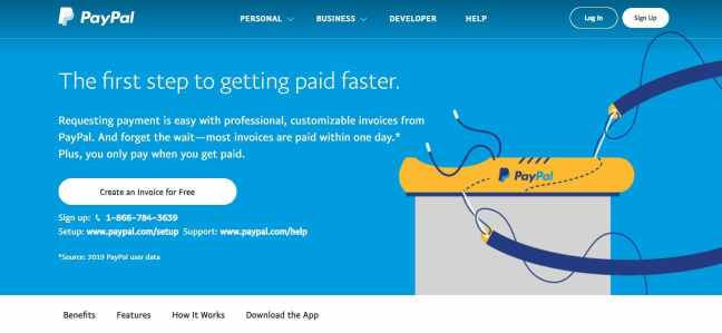 invoicing software paypal