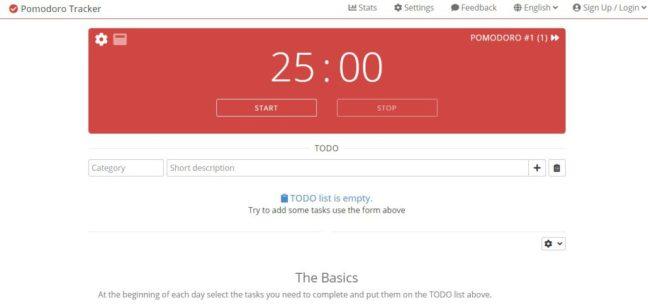 pomodoro app pomodoro tracker