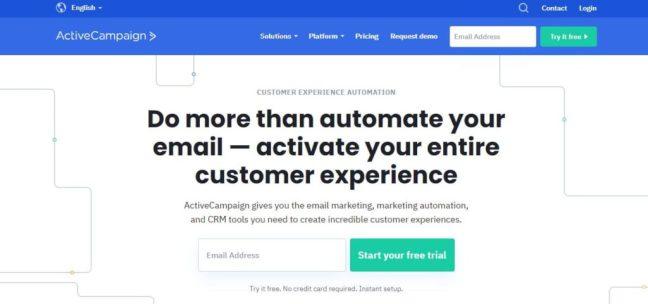 active campaign email list management