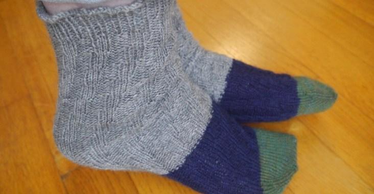 chaussettes sans talon