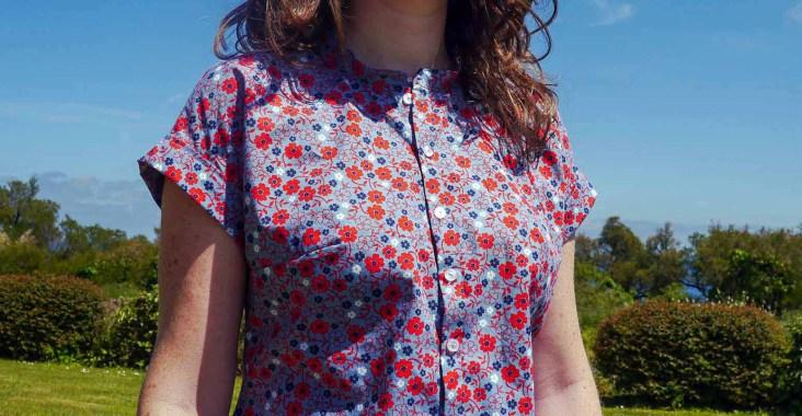 zoom devant chemise Mélilot