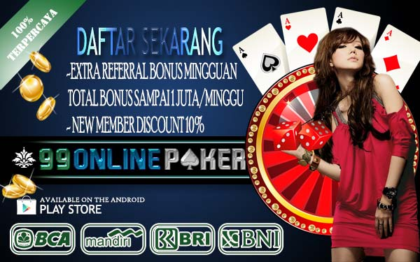 Agen Ceme Online Terpercaya Bank BCA, BNI, BRI, MANDIRI & DANAMON