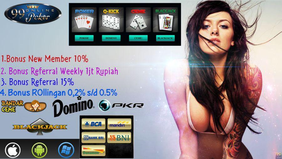 Judi Online Domino Terbaru Indonesia