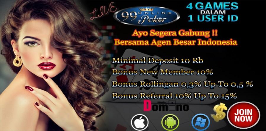 99 Domino Poker Online Terpercaya Yang Menguntungkan