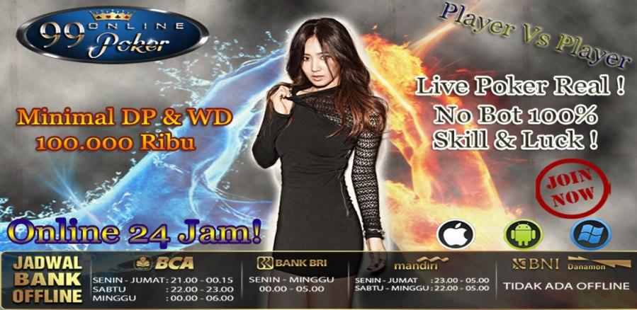 Agen Judi Online Situs Poker Terpercaya Indonesia