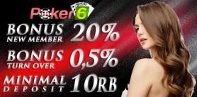 Daftar Poker Online Terpercaya POKER-6