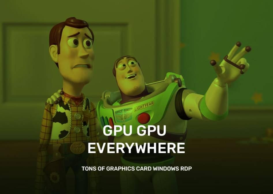 Virtual GPU Server For Rendering