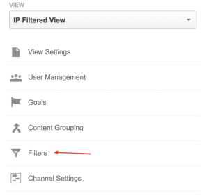 how to filter ips google analytics