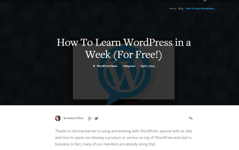 wpmudev - WordPress Tutorials