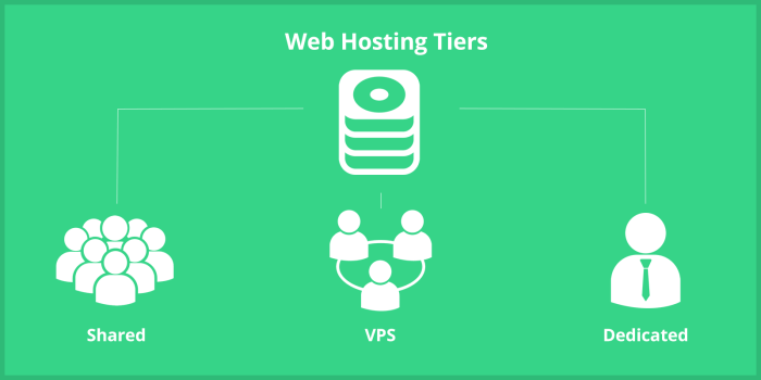 The Difference Between Shared Hosting, VPS, and Dedicated Hosting