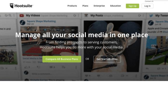 Hootsuite - Strumento di social media