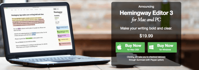 Hemingway 3.0 - App Mac per professionisti del marketing