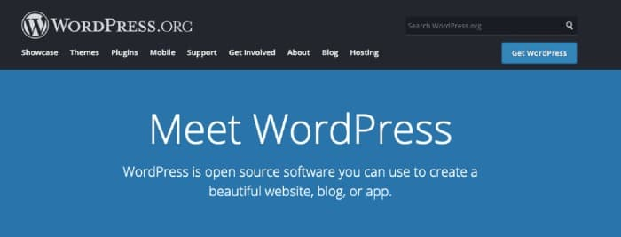 WordPress.org Blogging CMS
